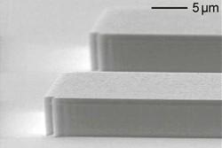 Deep etching of GaAs using SiCl4 / O2 / Ar gas mixture