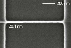 20nm SiGe nano wire, courtesy of Ruhr University Bochum, Germany