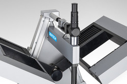 Spectroscopic ellipsometer with setup for transmission measurement11