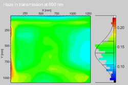 Haze mapping by SenSol Haze, courtesy of Oerlikon Solar, Switzerland