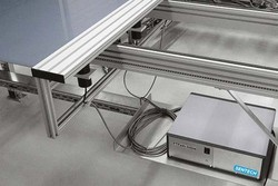 Inline measurement of silicon film thickness
